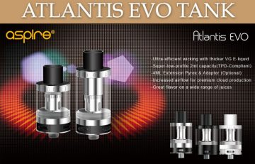 Aspire Atlantis EVO Review – Spinfuel VAPE Magazine