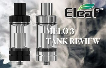 Eleaf Melo 3 Review by Spinfuel VAPE Magazine