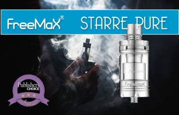 Starre PURE by Freemax – A Review by Spinfuel VAPE Magazine