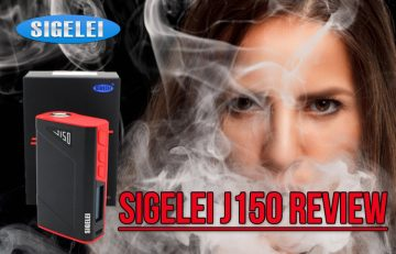 Sigelei J150 TC Box Mod Review – Spinfuel VAPE Magazine