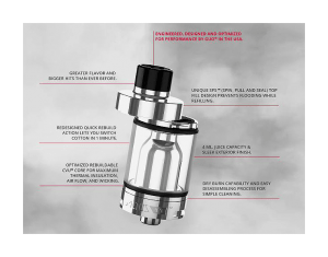 Guo Altus T1 Coil-Less Tank Review A Spinfuel Feature Review