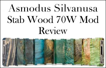 AsMODus Silvanusa 70W TC Stabilized Wood Luxury Mod Review – Spinfuel VAPE Magazine