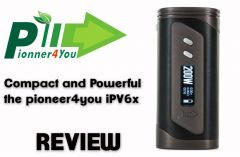 Pioneer4you IPV6x TC Box Mod Review Spinfuel VAPE Magazine