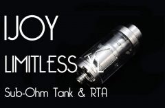 IJOY Limitless XL Sub-Ohm Tank & RTA Review – Spinfuel VAPE Magazine