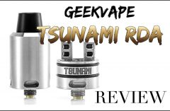 Geek Vape Tsunami RDA REVIEW – SPINFUEL VAPE MAGAZINE