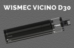 WISMEC Vicino D30 REVIEW SPINFUEL VAPE MAGAZINE