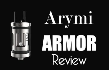 Arymi Armor Tank Review Spinfuel VAPE Magazine