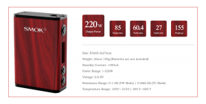SMOK Treebox Plus Box Mod Review – Spinfuel VAPE eMagazine
