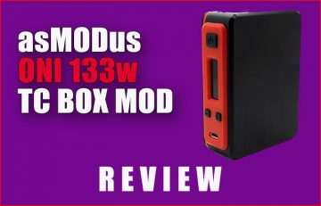 asMODus Oni 133W DNA200 TC Review Spinfuel VAPE Magazine