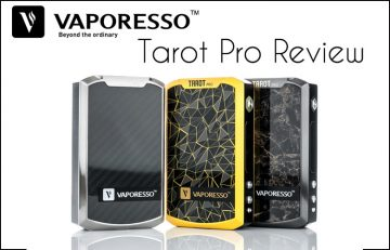 Vaporesso Tarot Pro 160W TC Box Mod Review – Spinfuel VAPE Magazine