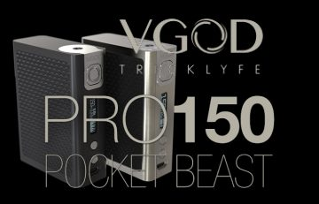 VGOD PRO150 TC & VGOD TrickTank Pro RDTA Double Feature Review by Spinfuel VAPE Magazine Kiley Phillips