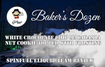 Mr. Good Vape Baker's Dozen Eliquid Review Spinfuel VAPE Magazine