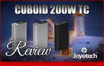 Joyetech Cuboid 200 TC Mod Review Spinfuel VAPE Magazine