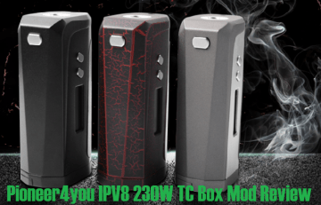 Pioneer4you IPV8 230W TC Box Mod - Spinfuel VAPE Magazine