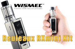 WISMEC Reuleaux RXmini Kit Review SPINFUEL VAPE MAGAZINE