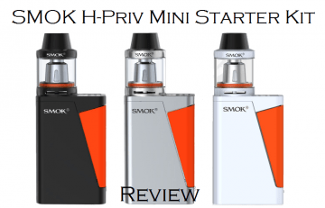 SMOK H-Priv Mini 50W TC Starter Kit - Spinfuel VAPE Magazine