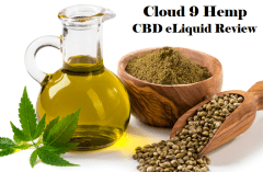 Cloud 9 Hemp CBD eLiquid Review - Spinfuel VAPE Magazine