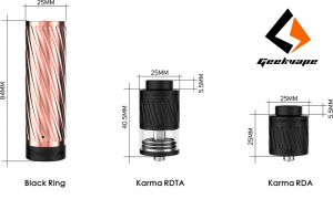 Geek Vape Karma Mechanical Kit - Spinfuel VAPE Magazine