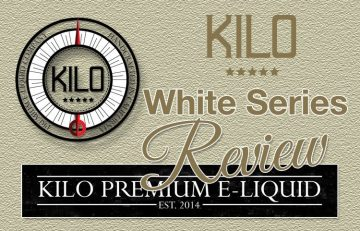 Kilo White Series Eliquid Review – SPINFUEL VAPE MAGAZINE