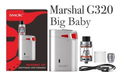 SMOK Marshal G320 TC Starter Kit Review Spinfuel VAPE Magazine