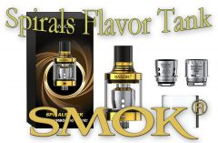SMOK Spirals Flavor Sub-Ohm Tank Review Spinfuel VAPE Magazine