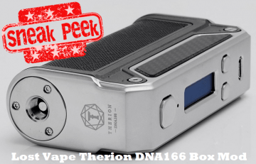 Lost Vape Therion DNA166 TC Box Mod - Spinfuel VAPE Magazine