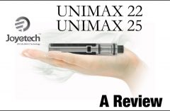 Joyetech UNIMAX 22 and UNIMAX 25 AIO Review Spinfuel VAPE Magazine
