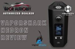 Vaporshark Hedron 200W Box Mod Spinfuel VAPE Magazine Review