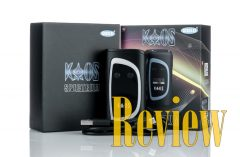 Sigelei KAOS Spectrum 230W TC Box Mod Review - Spinfuel VAPE Magazine