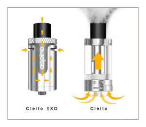 Aspire Cleito EXO Sub-Ohm Tank Review Spinfuel VAPE Magazine