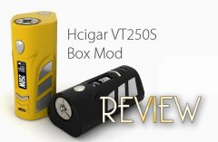 HCigar VT250S DNA 250 TC Box Mod Review SPINFUEL VAPE MAGAZINE