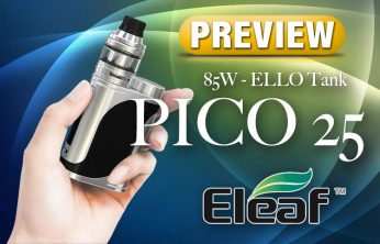 Eleaf iStick Pico 25 Box Mod Starter Kit Preview SPINFUEL VAPE MAGAZINE