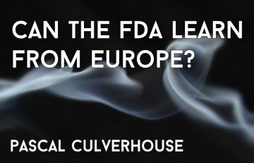 Achievable E-Cigarette Regulation: Can The FDA Learn From Europe? Spinfuel VAPE Magazine