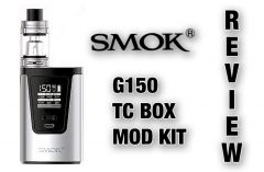 SMOK G150 TC Box Mod Kit Full Review Spinfuel VAPE Magazine