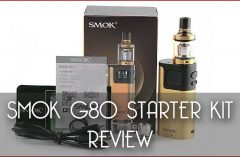SMOK G80 TC Starter Kit Full Review by Spinfuel VAPE Magazine