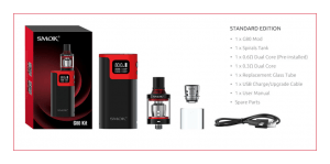 SMOK G80 FULL KIT and SMOK Spirals Tank Preview - Spinfuel VAPE
