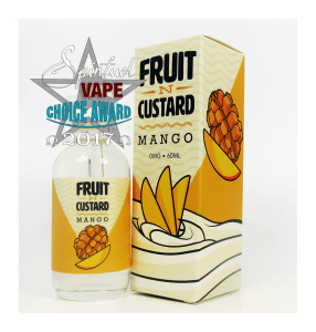 Fruit N Custard 3 Flavor Eliquid Review Spinfuel VAPE Magazine