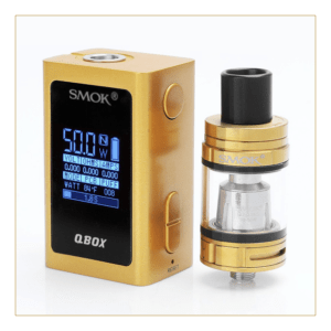 SMOK QBox Kit Is Tiny But A Worthy New Box Mod and Tank - SPINFUEL VAPE MAGAZINE