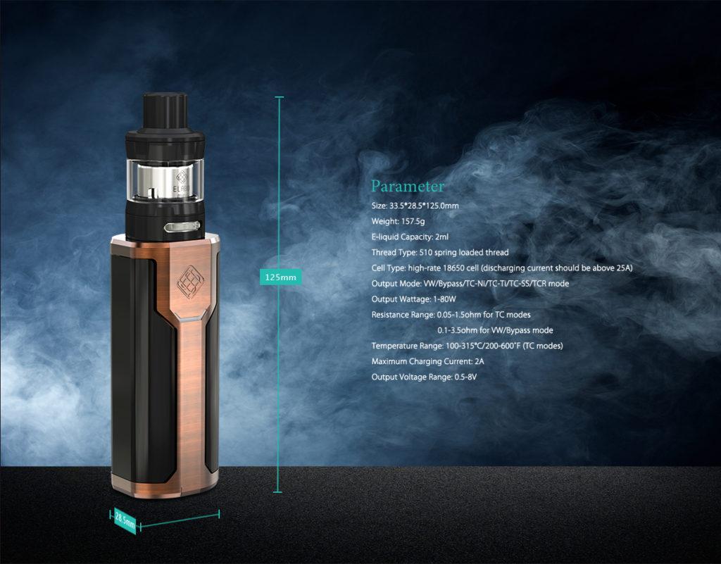 Wismec Sinuous P80 Box Mod Kit Preview Spinfuel Vape