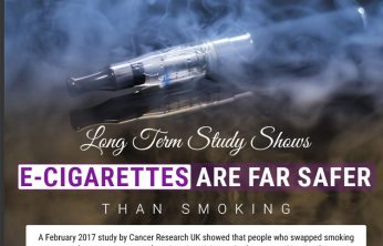 ancer Research UK Study Prove E-Cigarettes Safe – Infographic - Spinfuel VAPE Magazine