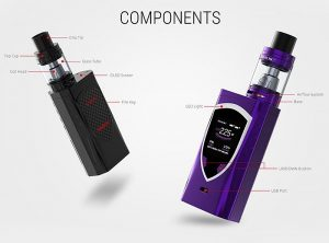 SMOK ProColor 225W TC Box Mod Kit Preview - Spinfuel VAPE