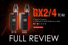 SMOK GX2/4 TFV8 Big Baby Beast Starter Kit REVIEW