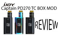 iJoy Captain PD1865 Kit (5S RDTA edition) Review – SPINFUEL VAPE MAGAZINE