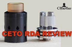 CETO RDA from Cthulhu Review – SPINFUEL VAPE MAGAZINE