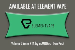 AVAILABLE AT ELEMENT VAPE