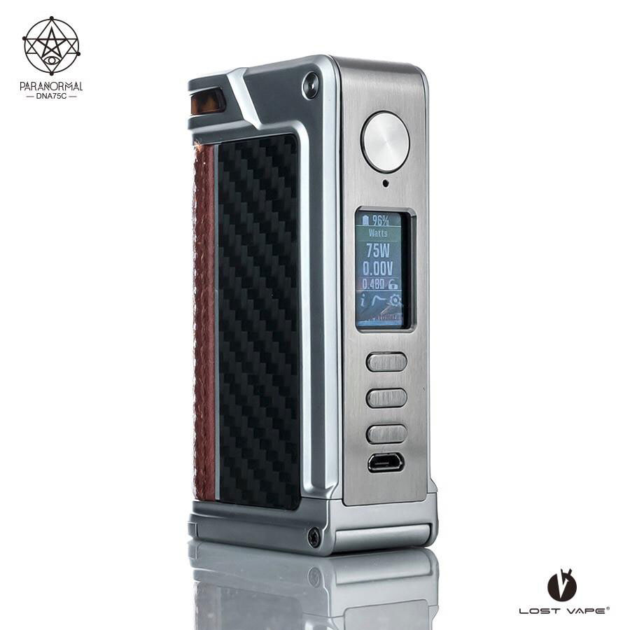 REVIEW: Lost Vape Paranormal DNA75C Box Mod | Spinfuel VAPE