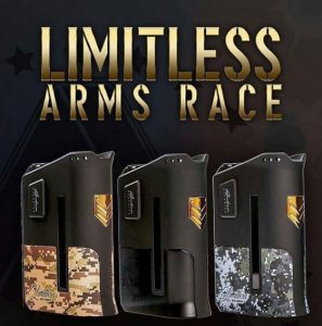 Limitless Arms Race Box Mod Review - Spinfuel VAPE Magazine