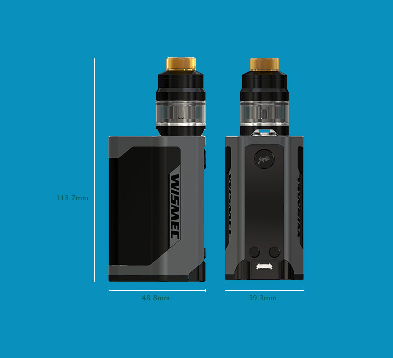 WISMEC Reuleaux RX Gen3 Kit Review - Spinfuel Vape Magazine
