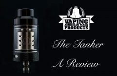 Vaping AMP The Tanker Sub-Ohm Tank Review – Spinfuel VAPE