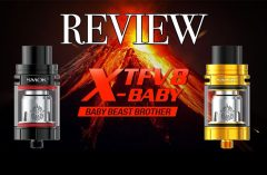 SMOK TFV-8 X-Baby Tank Review - SPINFUEL VAPE